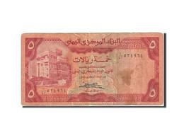 Yemen Arab Republic, 5 Rials, 1979-1985, 1983, KM:17b, B+ - Yémen