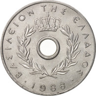 Grèce, 10 Lepta, 1966, SUP, Aluminium, KM:78 - Grèce