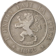 Belgique, Leopold I, 10 Centimes, 1962, TTB, Copper-nickel, KM:22 - 1831-1865: Léopold I