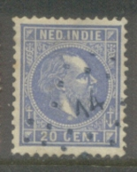 Nvph 12 Met Puntstempel 14 - Nederlands-Indië