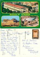 Athens, Greece Postcard Posted 1982 Stamp - Grèce
