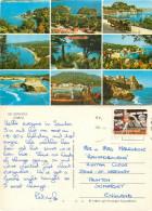 Corfu, Greece Postcard Posted 1985 Stamp - Grèce