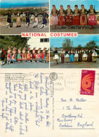 National Costumes, Greece Postcard Posted 1973 Stamp - Grèce