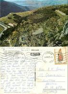 Delphi, Greece Postcard Posted 1975 Stamp - Grèce