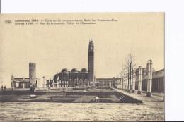 3 CP Exposition D´Anvers 1930. Temple De L'art Flamand. Même Thème, Vues Différentes - Antwerpen