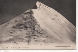 CPA - SOMMET DU MONT BLANC - 518 - G. TAIRRAZ - T. B. E - Chamonix-Mont-Blanc
