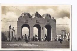 4 CP Exposition D´Anvers 1930. Entrée Monumentale. Même Thème, Vues Différentes - Antwerpen