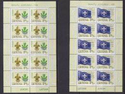 Europa Cept 2007 Lithuania 2v Sheetlets ** Mnh (33462A) - 2007