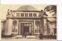 1 CP Exposition D´Anvers 1930. Pavillon De LaColonie Italienne. CP Provenant D'un Carnet - Antwerpen