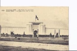 1 CP Exposition D´Anvers 1930. Palais De La Ville De Paris. Foule Devant Le Pavillon - Antwerpen