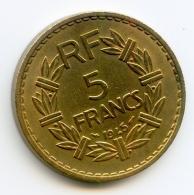 5 Francs   1945   Bronze-Alu - France