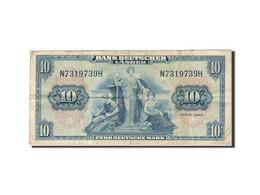 République Fédérale Allemande, 10 Deutsche Mark, 1949, KM:16a, 1949-08-22, TB - [ 7] 1949-… : RFA - Rep. Fed. Tedesca
