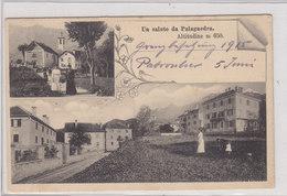 Un Saluto Di Palagnedra - Bella Animazione - 1915     (P12-20202) - TI Ticino