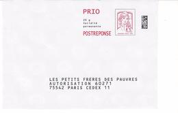 PAP REPONSE CIAPPA : LES PETITS FRERES DES PAUVRES .16P121 - Entiers Postaux