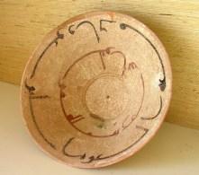 RARE OLD NISHAPUR CERAMIC BOWL / CALLIGRAPHY - Céramiques