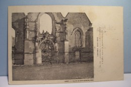 LIHONS  , Vers CHILLY   -- L'Eglise Après Le Bombardement - France