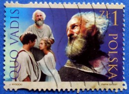 POLAND QUO VADIS SAINT PETER 1 Zl. 2001 Mic.3918 - USED - Used Stamps