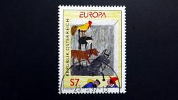Österreich 2221 Oo/ESST, EUROPA/CEPT 1997, Sagen Und Legenden, Die Bremer Stadtmusikanten (Märchen Der Brüder Grimm) - 1991-00 Used
