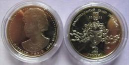 "Ukraine - 2 Grivna Coin 2008  ""Nataliia Uzhvii"" UNC - Ucraina"