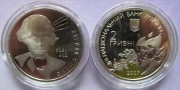 """Ukraine - 2 Grivna Coin 2007  """"Olena Teliha"""" UNC - Ucraina"""