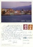Chania,  Crete, Greece Postcard Posted 1994 Stamp - Grecia