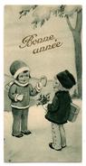 Mignonette Bonne Année - Illustrateur - Documentos Antiguos