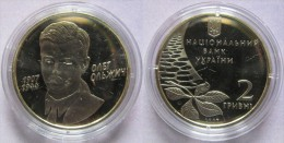 "Ukraine - 2 Grivna Coin 2007  ""Oleh Olzhych"" UNC - Ucraina"