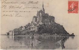 Mont Saint Michel  Coté Nord Est - Le Mont Saint Michel