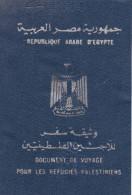 PALESTINE AUTHORITY 2005 PASSPORT GAZA ISSUE SAUDI ARABIA VISA FISCAL - Historische Documenten