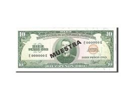 Dominican Republic, 10 Pesos Oro, 1985, Undated, KM:119s2, NEUF - Dominicaine