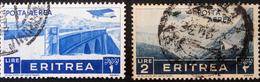 COLONIE ITALIENNE - POSTE AERIENNE 1936 - OBLITERES - YT PA 22 + 24 - MI 247+ 249 - Erythrée