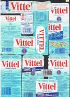 ETIQUETTES-EAU VITTEL- - Etiketten
