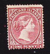 Falkland Islands, Scott #7, Mint No Gum, Queen Victoria, Issued 1886 - Falkland Islands