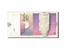 Macédoine, 10 Denari, 1996, 1997, KM:14b, TTB - Macédoine
