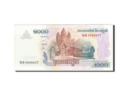 Cambodge, 1000 Riels, 2005-2008, 2007, KM:58b, SUP - Cambodia