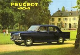 Peugeot 404 Berline  -  CPM - Turismo