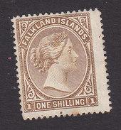Falkland Islands, Scott #18, Mint No Gum, Queen Victoria, Issued 1891 - Falkland Islands