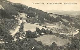 -ref-N226- Herault - La Salvetat - Route De Saint Pons - St Pons - Le Grand Lacet - Carte Bon Etat - - La Salvetat
