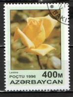 AZERBAIJAN - 1996 -  ROSA LANDORA - USATO - Azerbaijan
