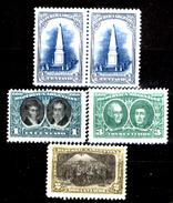 Argentina-00087 - Valori Emessi Nel 1910 (+) - Privi Di Difetti Occulti. - Nuovi