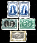 Argentina-00088 - Valori Emessi Nel 1910 (+) - Privi Di Difetti Occulti. - Nuovi