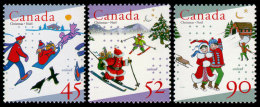 Canada, 1996, UNICEF 50th Anniversary, Children, United Nations, MNH, Michel 1605-1607 - Non Classés