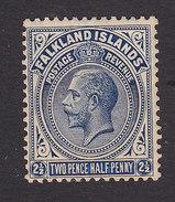 Falkland Islands, Scott #44, Mint Never Hinged, King George V, Issued 1921 - Falkland