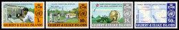 Gilbert And Ellice Islands, 1973, WMO Centenary, World Meteorological Organization, United Nations, MNH, Michel 213-216 - Gilbert & Ellice Islands (...-1979)