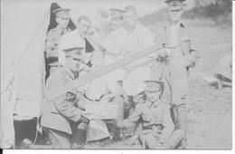 1914 Soldats Britanniques Gallois Welsh Au Campement 1 Carte Photo 1914-1918 14-18 Ww1 Wk1 - War, Military