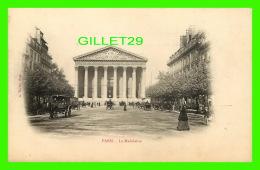 PARIS (75) - LA MADELEINE - ANIMÉE - A. TARIDE - DOS NON DIVISÉ - - Other Monuments