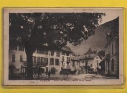 - MOUTIERS - Hôtel Des Postes Et  Square De La Liberté - Moutiers
