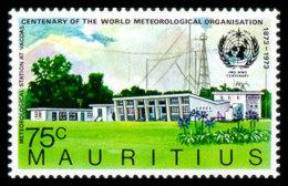 Mauritius, 1973, WMO Centenary, World Meteorological Organization, United Nations, MNH, Michel 397 - Maurice (1968-...)