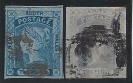 Nouvelle Galles Du Sud - N° 10 - Oblitéré - Les 2 Nuances - Used Stamps