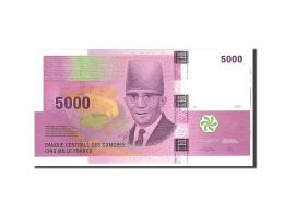 Comoros, 5000 Francs, 2006, Undated, KM:18, NEUF - Comoros